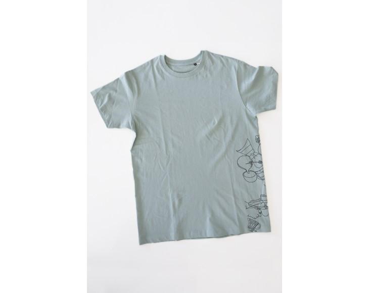 Taf Mint Color T-shirt