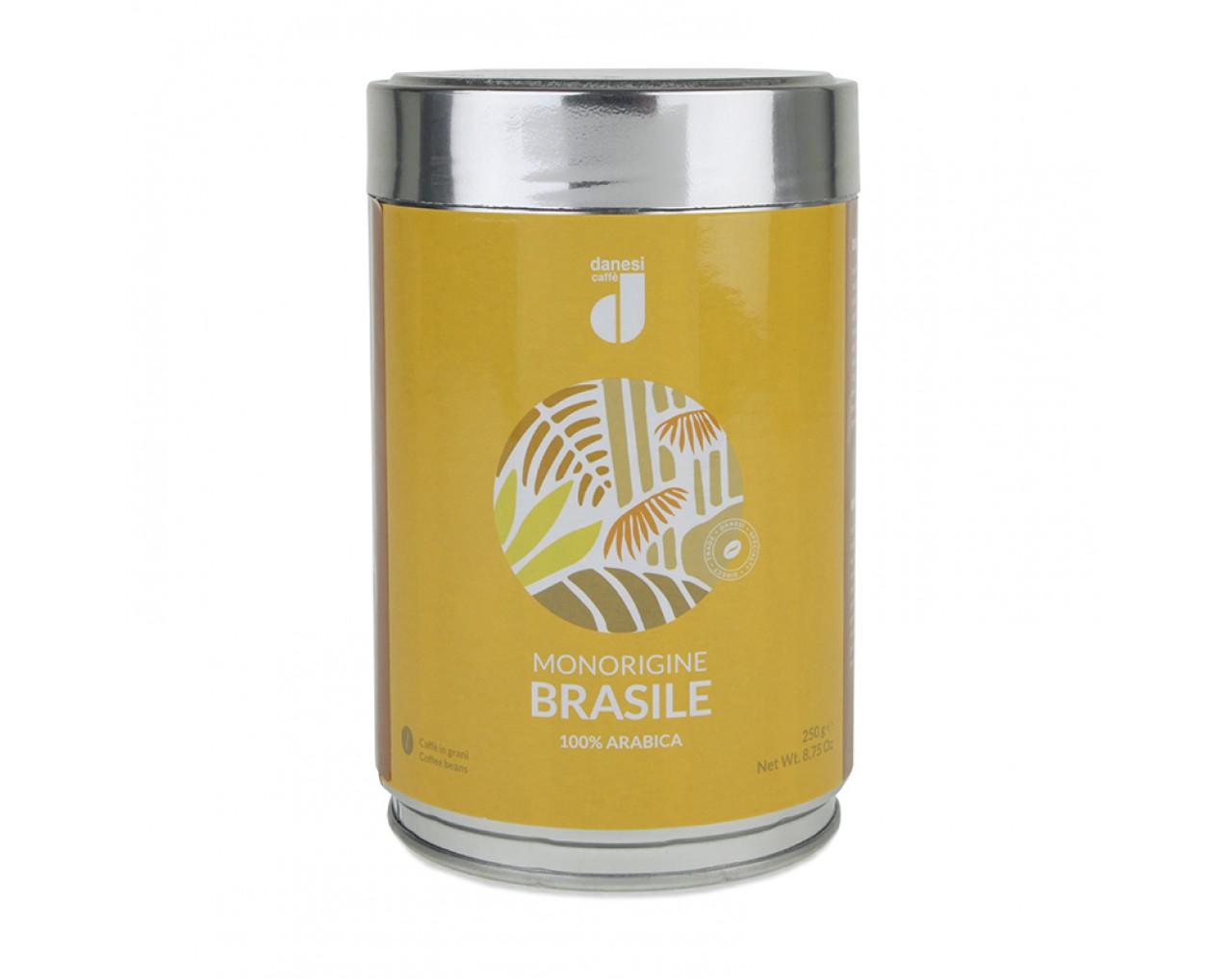 Danesi 100% Arabica Brasile Single Origin (tin)