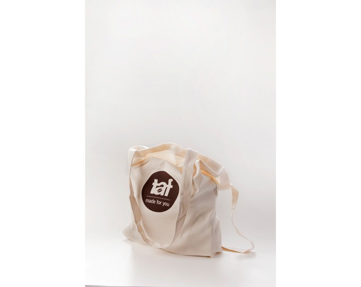 Tote bag from organic cloth