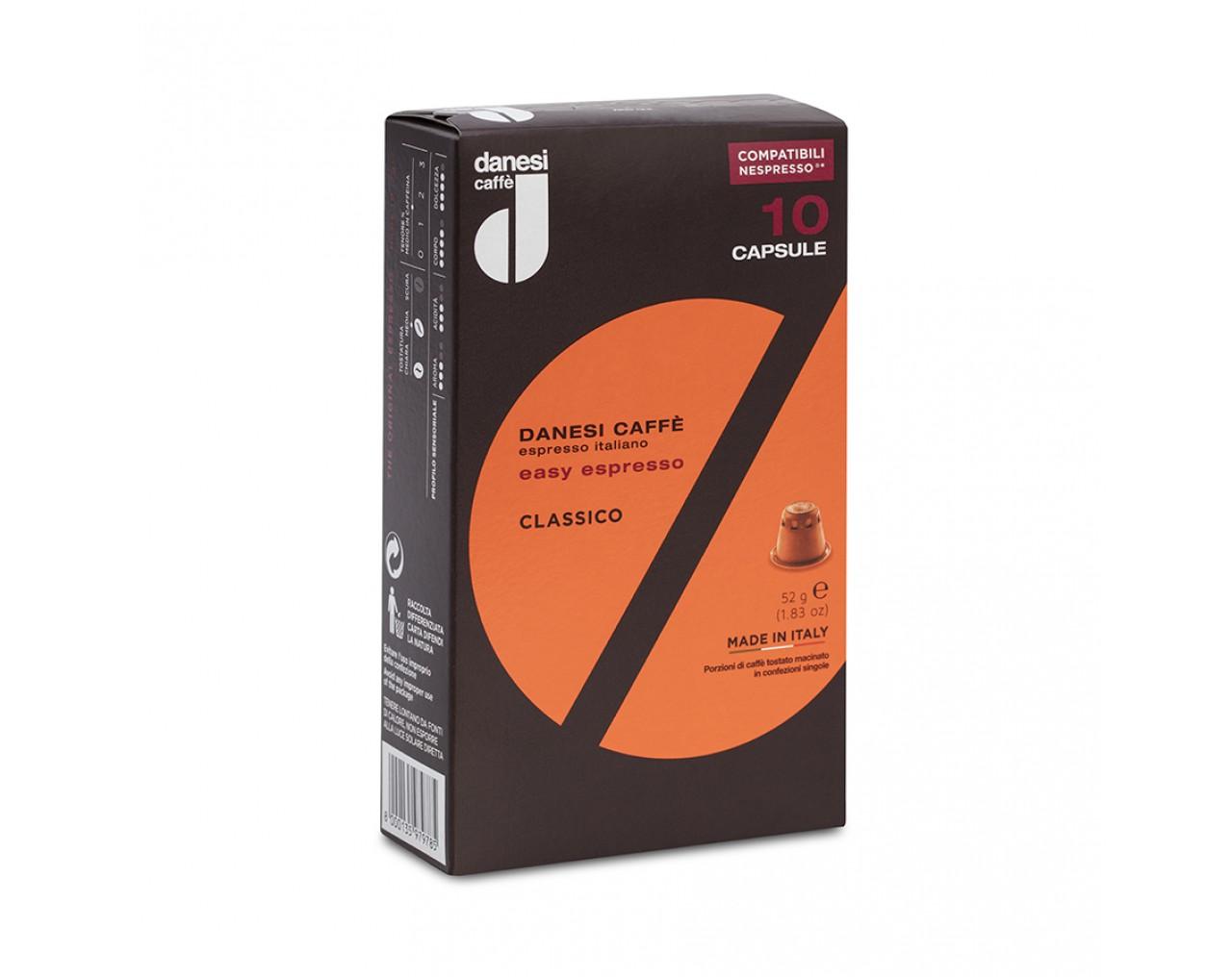 Espresso capsules Danesi Classico