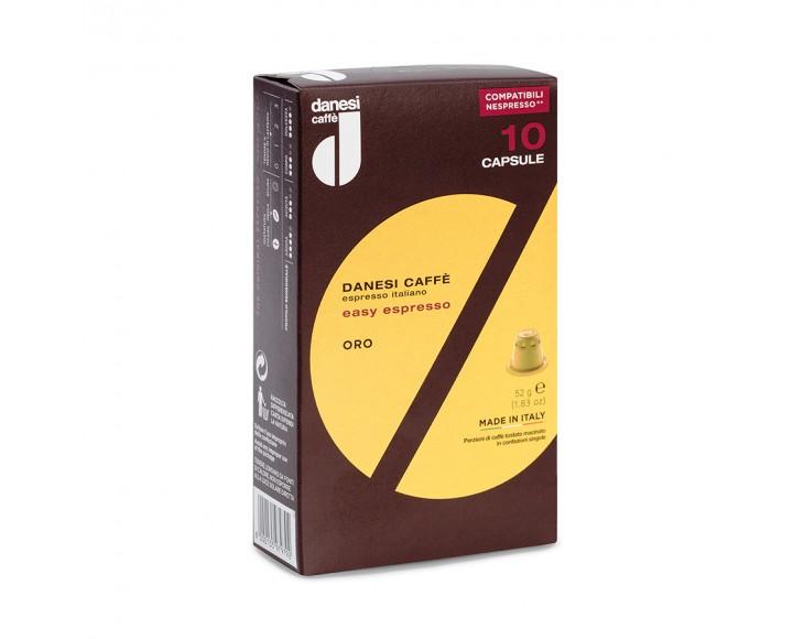Espresso capsules Danesi Oro