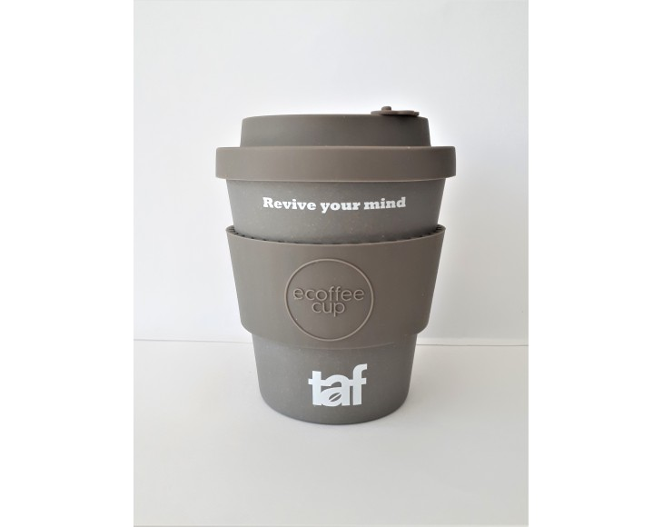 Taf Ecoffee Cup 12oz Grey