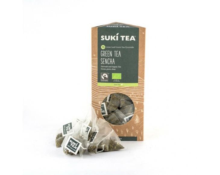 Green Tea Sencha (Pyramids 15x2gr)