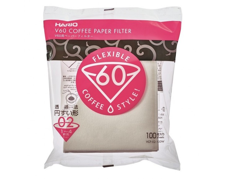 HARIO FILTERS V 60 (2 Cups)