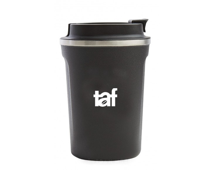 TAF Thermos Cup 380ml Black