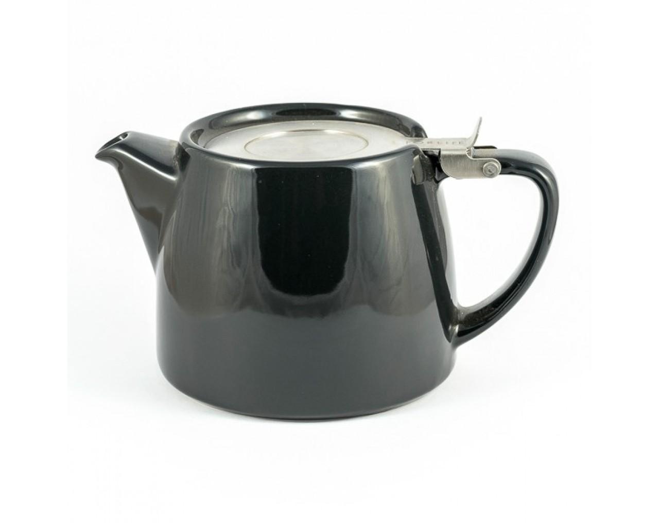 Black StumpTeapot