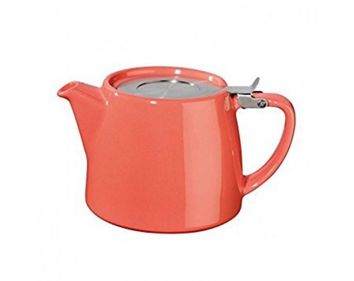 Coral Stump Teapot