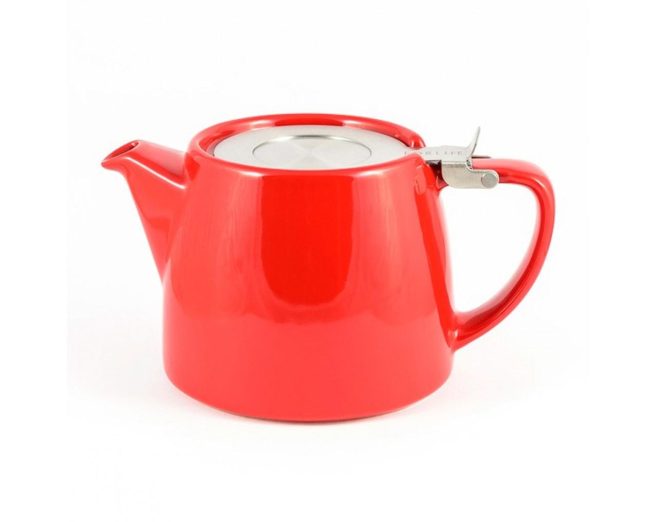Red Stump Teapot
