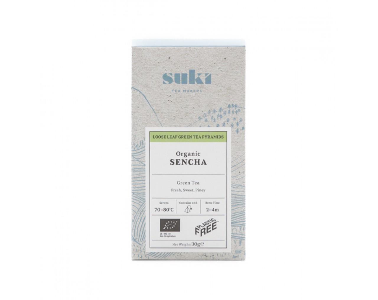 Sencha Green Tea (Pyramids 15x2gr)