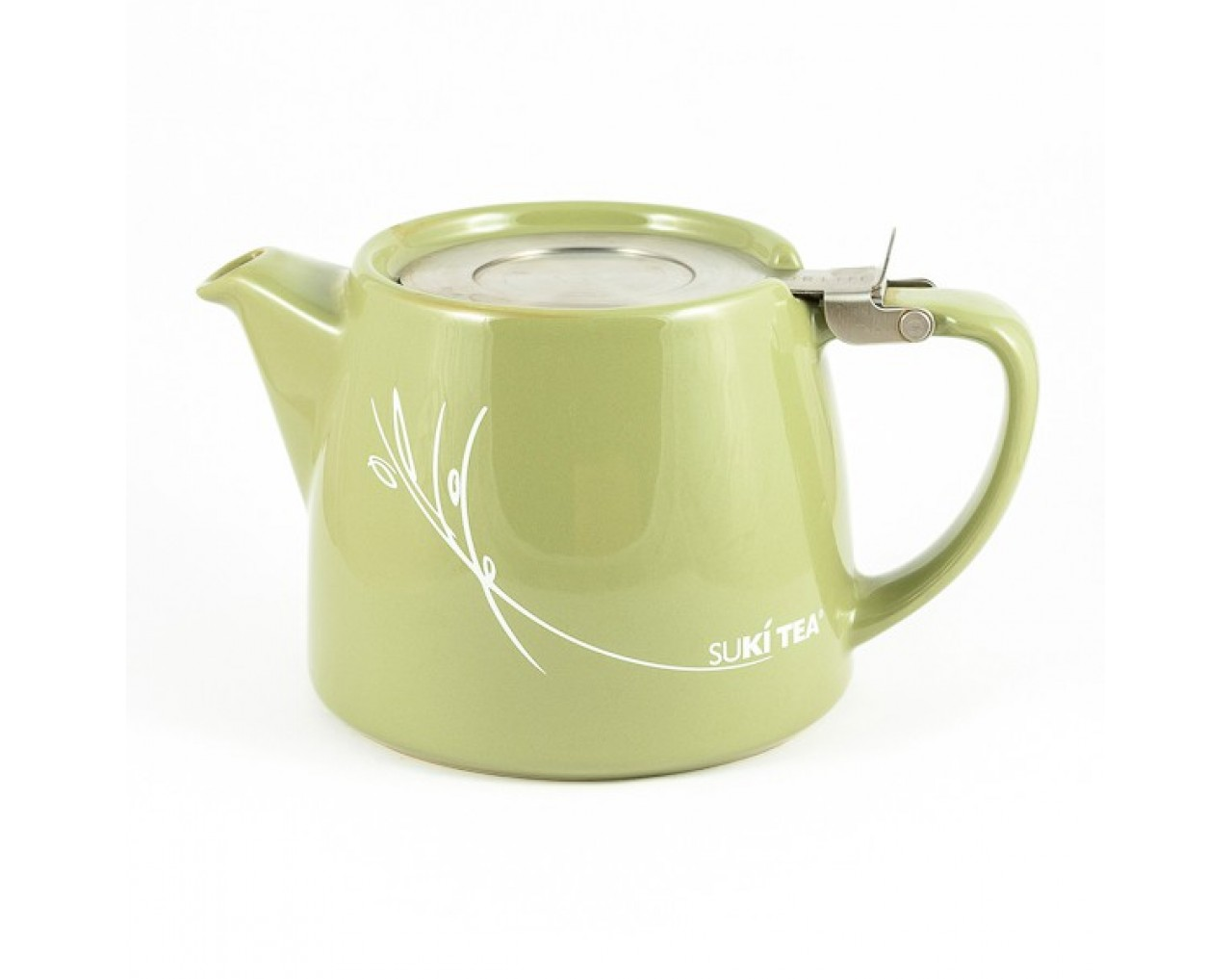 Green Stump Teapot