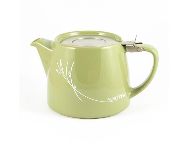 Green Stump Teapot