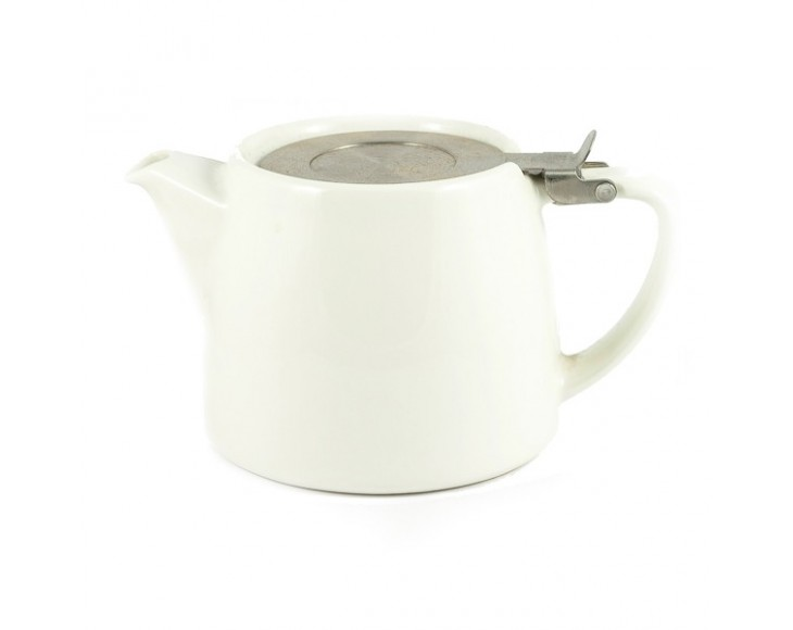 White Stump Teapot