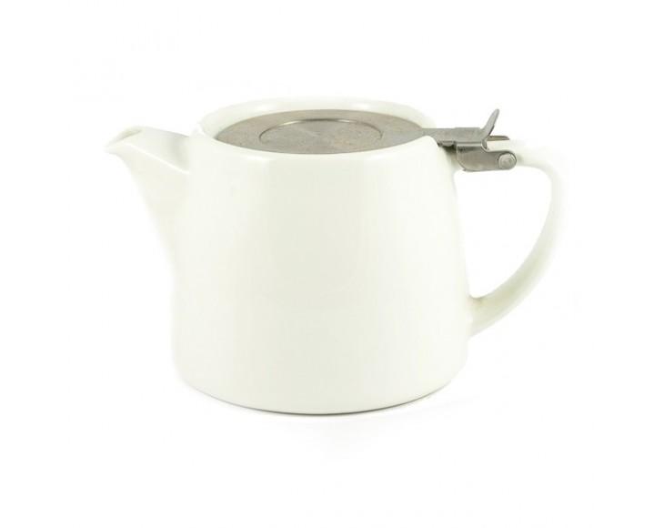 White Stump Teapot