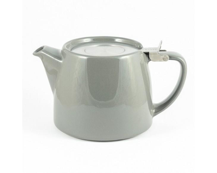 Grey stump teapot