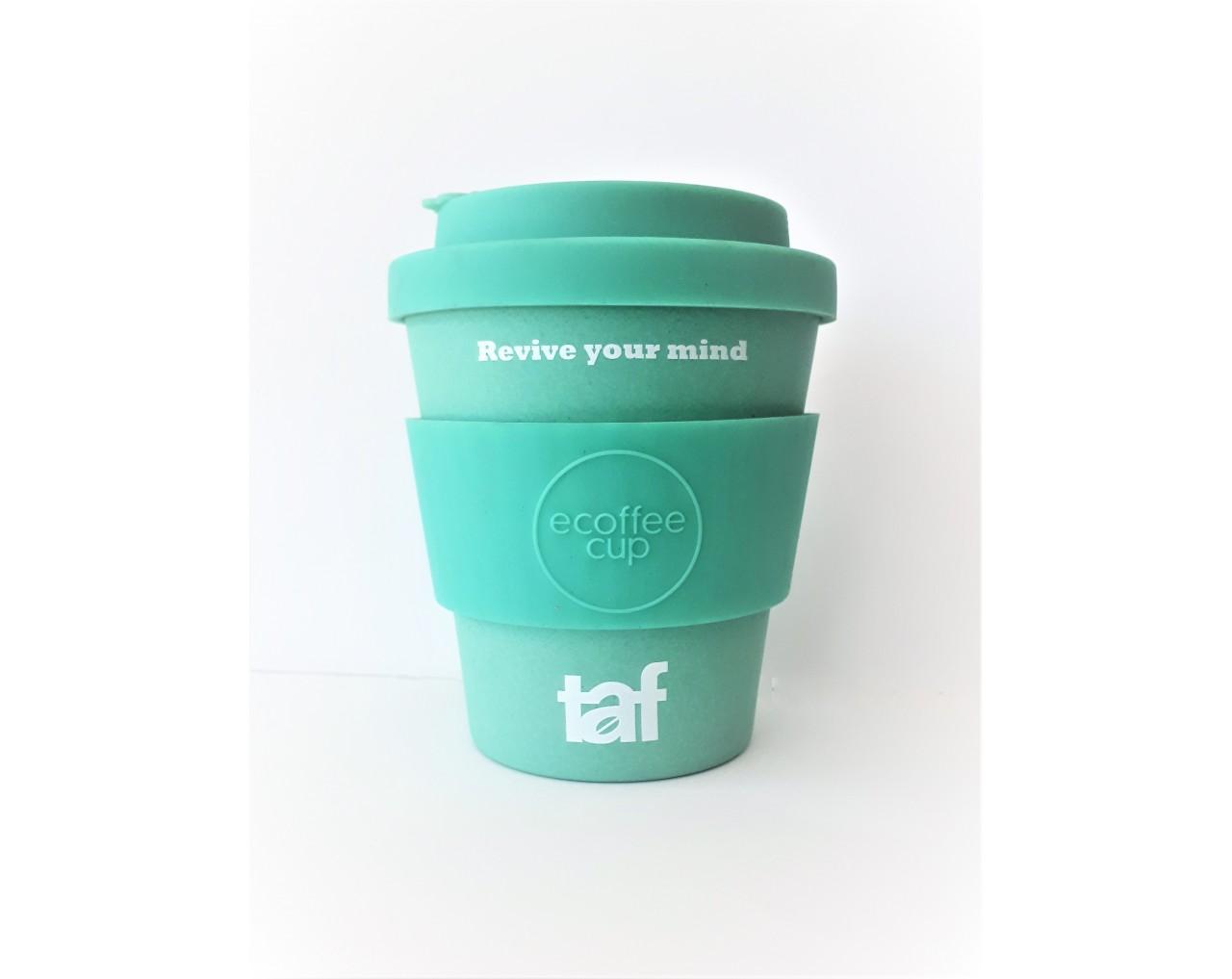 Taf Ecoffee Cup 12oz Turquoise