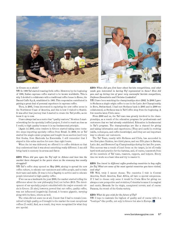 Barista Magazine Ιούνιος 2015