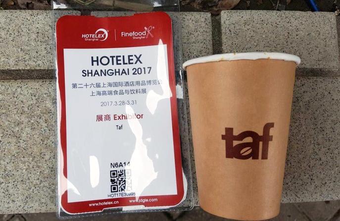 29/03/2017 Τaf in HOTELEX Shanghai – Taf